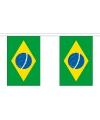 Brazilie slingers van stof 3 m